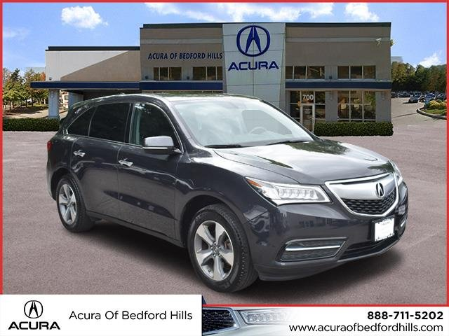 Certified PreOwned Acura MDX SHAWD Sport Utility In Bedford - Pre own acura