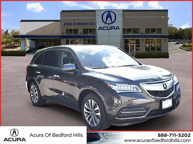 PreOwned Acura MDX L Sport Utility In Bedford Hills - Acura mdx pre owned
